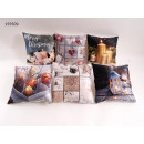 wholesale Home & Living: Throw Pillow Christmas 40 x 40 cm with LED + timer