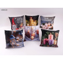 hurtownia Poduszki & koce: Rzuć poduszkami 40 x 40 cm z zegarem LED +