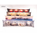 wholesale Cushions & Blankets: Throw pillows 90 x 20 cm with LED + timer