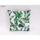 Decorative pillow leaves 40 x 40 cm
