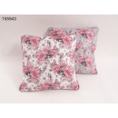 wholesale Home & Living: Throw pillows Flower pattern 45 x 45 cm