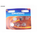 grossiste Batteries et piles: Grundig Pile  bouton lithium CR2016 5-Pack