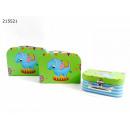 Geschenkbox Koffer Set Elefanten Motiv