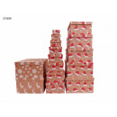 Gift box Christmas nature Pack of 13 3 Design