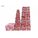 Gift Box Christmas Tree Pack of 13 2 Designs VE4