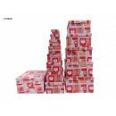 Großhandel Geschenkartikel & Papeterie: Geschenkbox Tannenbaum 13er Pack 2 Designs VE4