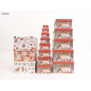 Geschenkbox Weihnachten 13er Pack 4 Designs VE4