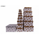 Großhandel Geschenkartikel & Papeterie: Geschenkbox Stars 13er Pack