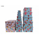 wholesale Gifts & Stationery: Gift box Teddy bear and balloons pack of 13