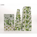 wholesale Gift Wrapping: Gift box Palm leaves 1 13-pack 4 designs VE