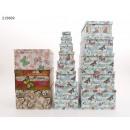 Großhandel Geschenkartikel & Papeterie: Geschenkbox Schmetterlinge 13er Pack 4 ...