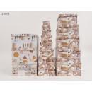 Großhandel Geschenkartikel & Papeterie: Geschenkbox Strickgarn 13er Pack 4 Designs VE4