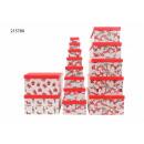 hurtownia Upominki & Artykuly papiernicze: Pudełko prezentowe Christmas , opakowanie 13 szt.