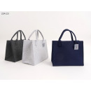 Shopping bag felt uni ca 35 x 20 x 28 cm