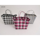 wholesale Haircare: Woven basket made of polypropylene approx. 31x24x2