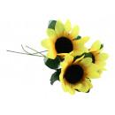 grossiste Fleurs artificielles:Tournesol ca 22 cm