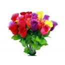 grossiste Fleurs artificielles:ca Rosebud coloré 46 cm