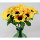 Großhandel Kunstblumen:Sonnenblume ca 39 cm