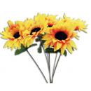 Großhandel Kunstblumen:Sonnenblume ca 32 cm
