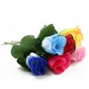 groothandel Kunstbloemen: Dog Rose diverse kleuren - ca. 17cm