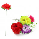 wholesale Other: Carnation 6 color assorted ca 18 cm