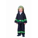 Feuerwehr-Uniform  Hose und Jacke Größe 104