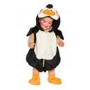 Pinguino: tuta con cappuccio attaccato, scarpe 86/