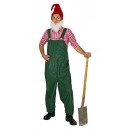 wholesale Trousers: dwarf green  dungarees size XL / XXL