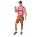 ingrosso Moda e tradizione: pantaloni costume marrone 50