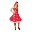 Großhandel Röcke: Rockabilly-Kleid mit Haarband