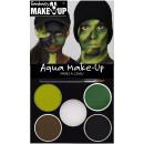 Aqua-Schminkset: Tarnfarbe