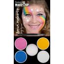 groothandel Make-up:Aqua make-up: Einhorn