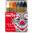 6 make-up matite in scatola