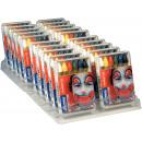 6 lápices de  maquillaje, 20 cajas en Display