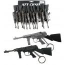Pistole assortito per portachiavi circa 15,5 cm