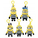 Minions prisoner on Bag Clip 5 times assorted ca 1