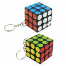 wholesale Mind Games: Puzzle cubes on  key chains ca 3 x 3 cm
