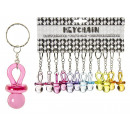 wholesale Baby Toys: Pacifier 6-fold sort - to Keychain - ca