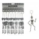 Skeletal gray to Keychain - ca 15cm
