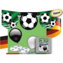 Großhandel Geschenkartikel & Papeterie: Ballons-  Dekoballongirlande Fußball