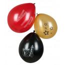 Palloncini 6 pezzi 'VIP' allineati 3x - ca