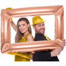 wholesale Pictures & Frames: Foil balloon picture frame rose gold ca 85x60 cm
