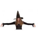 wholesale Toys: Hat - Witch hat Ursula black