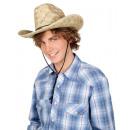 Hut - Dallas bull - Strohhut, feste Qualität