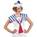 Hat - Hat Navy blauw / wit