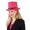 wholesale Toys: Hat - Cylinder 'Byron' pink