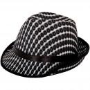 Cappello Tribly nero bianco