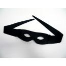 wholesale Toys: Fabric Eye Mask  with twist ties, black