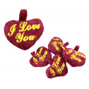 wholesale Other: Heart 9 cm red 'I Love you'