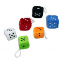 wholesale Wooden Toys: Cubes made of  plush color  assorted ca 4,5 x ...